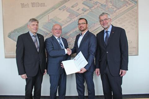 Dr. Andreas Mai ist neuer Leiter des Joint Lab IHP Frankfurt (Oder) - TH Wildau
