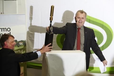 Europas modernaste utsädesanläggning har startats i Eslöv