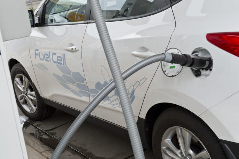 Hydrogenfylling