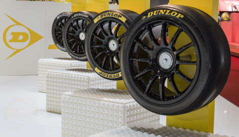 Dunlop vil arbeide for å skape flere variabler i motorsport – viser 4 BTCC-løpsdekk i Genève