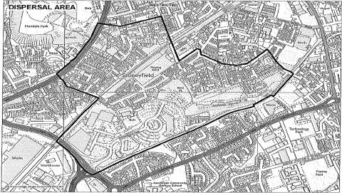 Dispersal order issued to combat antisocial behaviour in Milkstone and Deeplish