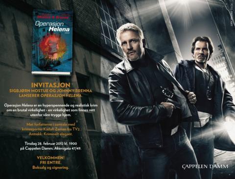 Invitasjon: Lansering av OPERASJON HELENA