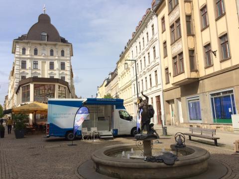 Beratungsmobil der Unabhängigen Patientenberatung kommt am 28. März nach Görlitz.