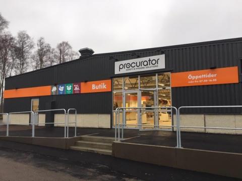 Procurator stärker sin lokala närvaro - öppnar butik i Karlstad