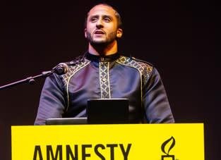 Colin Kaepernick tilldelas Amnesty Internationals Ambassador of Conscience Award 2018