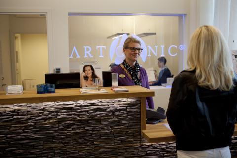 Art Clinic Jönköping reception