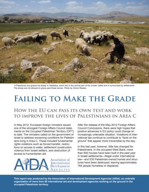 Failing to Make the Grade AIDA EU