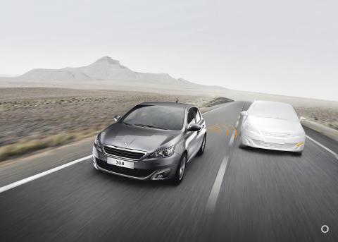 Nya Peugeot 308 - en intuitiv körupplevelse