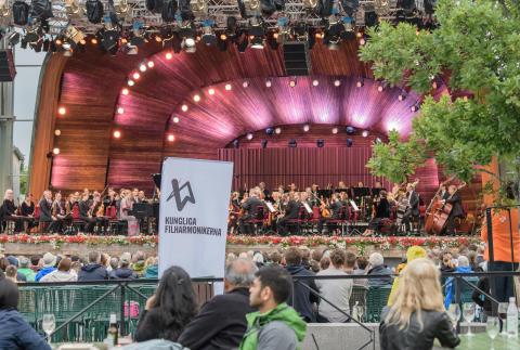 Kungliga Filharmonikerna på Skansen