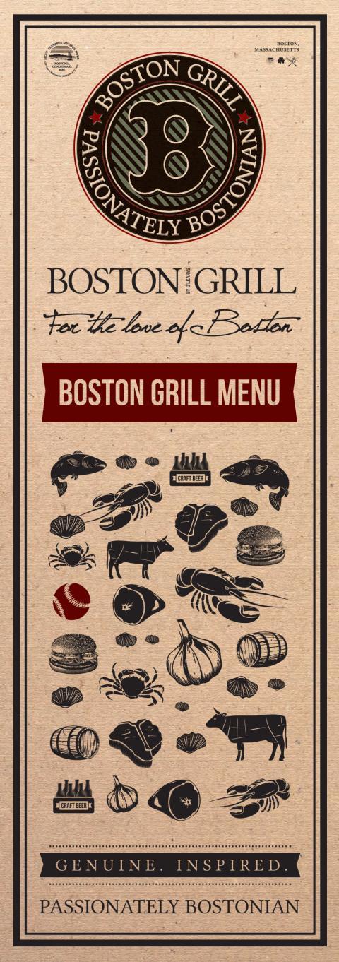 Boston Grill Menu
