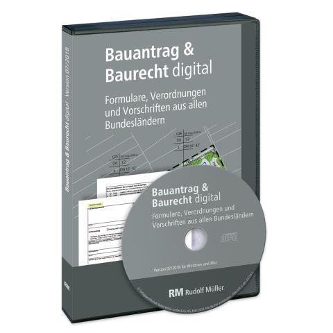 Bauantrag & Baurecht digital, Version 01/2019