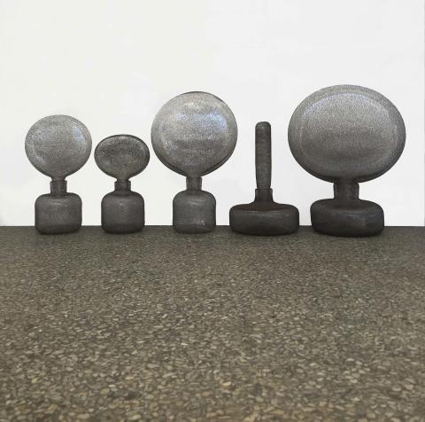 Plock av Carina Seth Andersson - ny glasutställning hos Konsthantverkarna