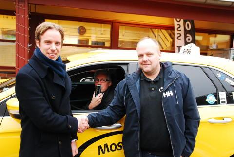 Moss Taxi setter passasjerenes sikkerhet i fokus - Installerer alkolås i samtlige 46 biler