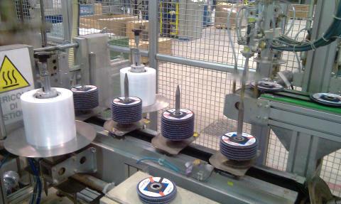 100-millioner lamellrondeller produsert i Colledara, Italia