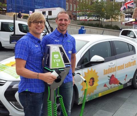 Östersund - bra för elbilsägare