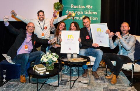 Uppsalahems webbplats vinner Guld-M:et!