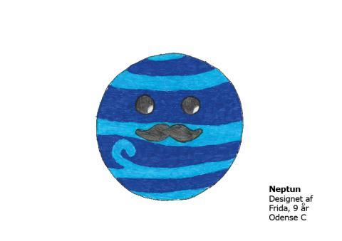 Frida 9 år Neptun