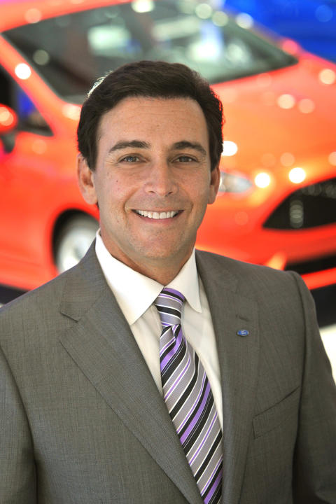 Påtroppende toppsjef for Ford Motor Company Mark Fields