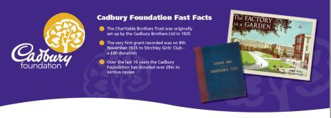 Celebrating the impact of The Cadbury Foundation in 2018!