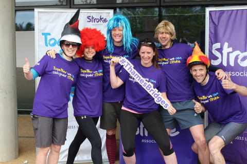 James Norton joins London cyclists in fundraising success for the Stroke Association