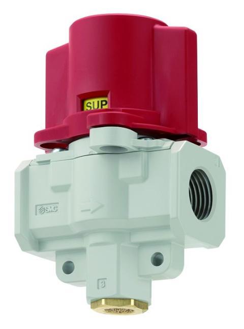 På- och avlufta ditt system enkelt och säkert med ventil från SMC