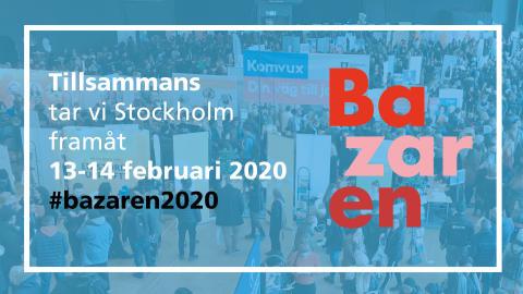 Idag öppnar Bazaren: Ett viktigt tema är rådgivning och vägledning för att starta företag i Sverige