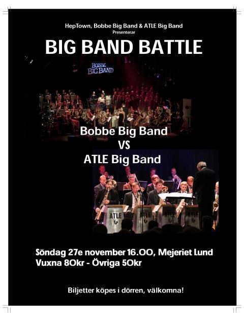 Big Band Battle – Bobbe Big Band vs Atle Big Band