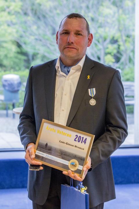 Årets veteran 2014