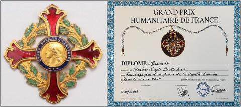 """Barber Angels Brotherhood mit dem """"Grand Prix Humanitaire de France"""" ausgezeichnet"""
