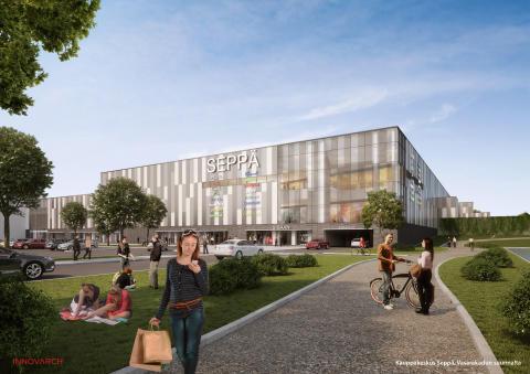 Skanska bygger köpcentrum i Jyväskylä, Finland, för cirka 480 miljoner kronor