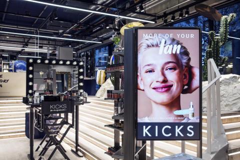 KICKS testar nytt affärskoncept i The Lobby