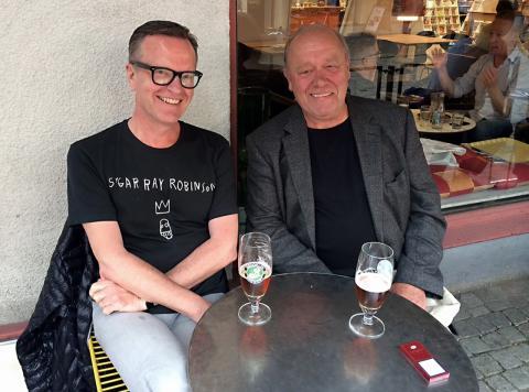 Galleristerna Göran Green och Gert-Olle Göransson får 2014 års Dynamostipendium