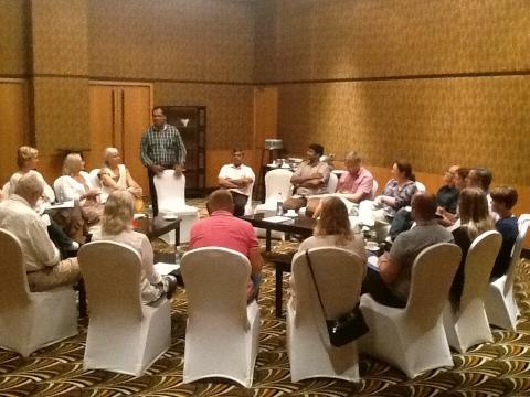 Ledarutbildningen Växthuset på plats i Indien