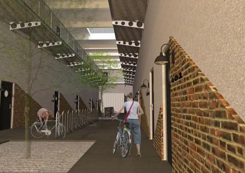 Historisk varvsbyggnad byggs om till studentbostäder