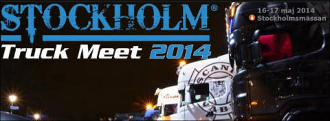 Träffa Malux på Stockholm Truck Meet 16 - 17 maj 2014 i Stockholm
