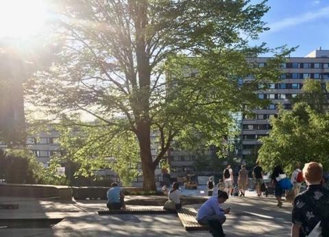 Presseinvitasjon:  Åpning av nye, grønne og sosiale uteområder på Kringsjå Studentby 4. juni