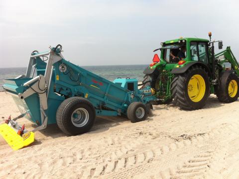 Bättre förutsättningar för strandrensningen