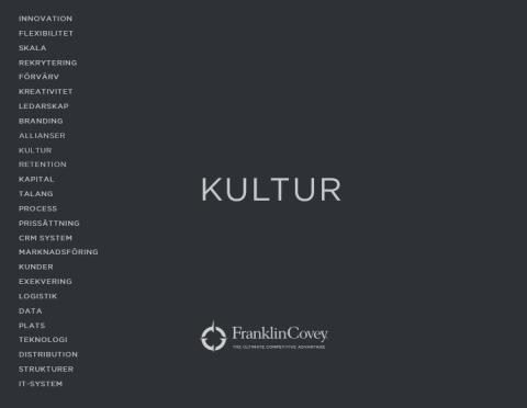INVITATION ONLY: Seminarium: Kultur - din främsta tillgång!
