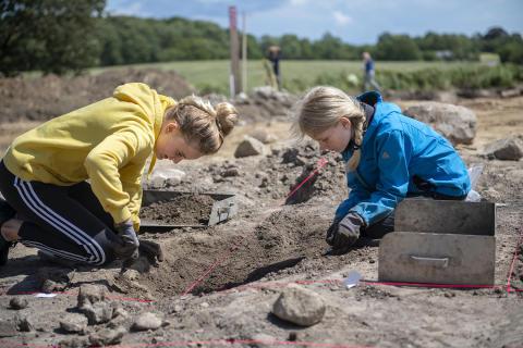 Arkæologiskole Moesgaard 3