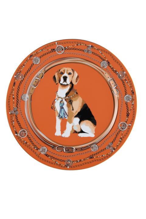 Rosenthal - Sternzeichenteller Jahr des Hundes
