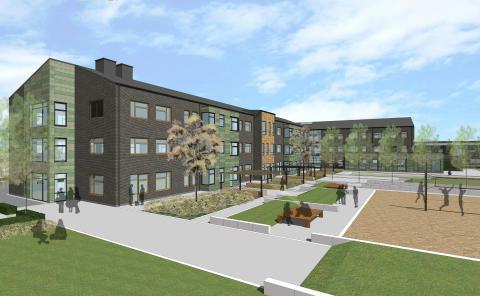 Ny grundskola i Gyllins trädgård