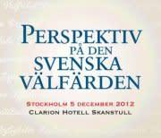 Perspektiv På Den Svenska Välfärden