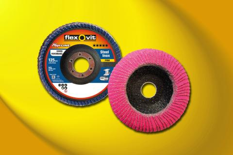 Flexovit lamellrondell Mega-Line Curved Performance - Produkt 1