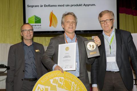 Deflamo – vinnare av Nordbyggs guldmedalj 2015