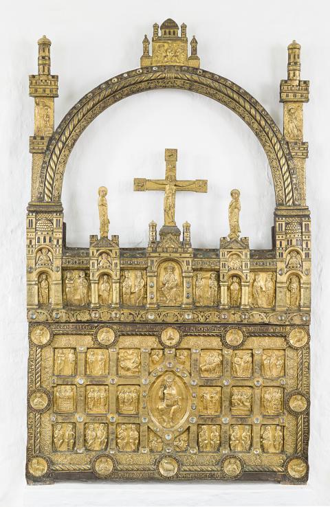 Det gyldne alter fra Sahl Kirke