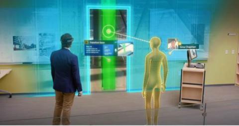 Trimble och Microsoft utvecklar lösningar för att arbeta med hologram i konstruktionsbranschen