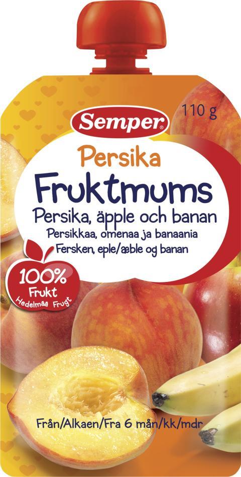 Fruktmums Persika