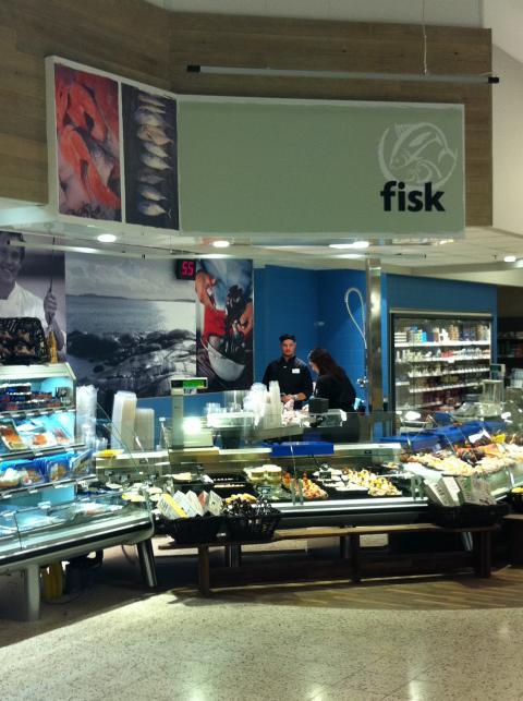 Omprofilering fiskdisk