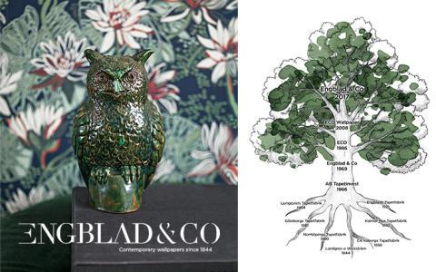 Engblad & Co blir det nya namnet när Eco Wallpaper går tillbaka till sina rötter