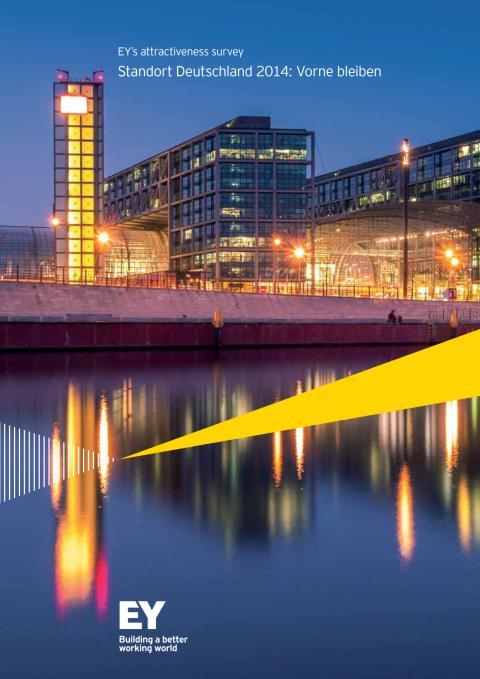 EY Studie Standort Deutschland 2014